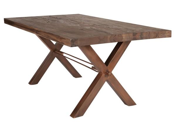 Tisch 240x100 cm, Balkeneiche Räucheröl-Finish (TISCHE) 15083-00