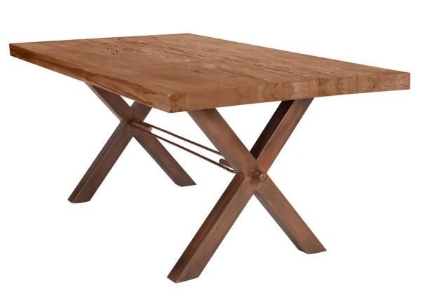 Tisch 240x100 cm, Balkeneiche natur (TISCHE) 15123-00