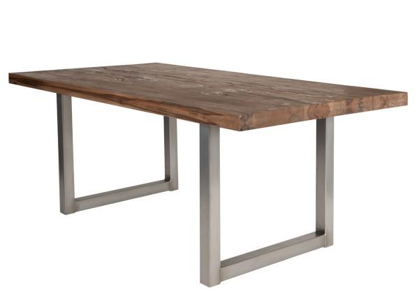Tisch 240x100 cm, Balkeneiche Räucheröl-Finish (TISCHE) 15153-40