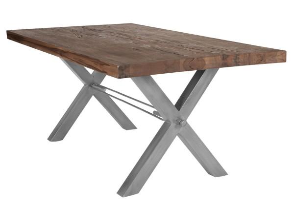 Tisch 240x100 cm, Balkeneiche Räucheröl-Finish (TISCHE) 15083-40