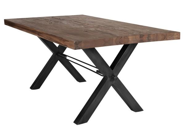 Tisch 240x100 cm, Balkeneiche Räucheröl-Finish (TISCHE) 15083-11